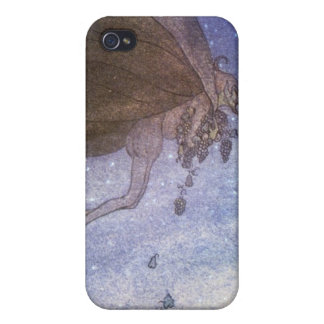 Magicians Cape John Bauer Fairytale Illustration Cover For iPhone 4