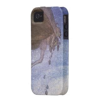 Magicians Cape John Bauer Fairytale Illustration iPhone 4/4S Cases