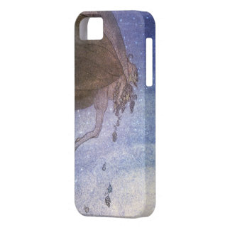 Magicians Cape John Bauer Fairytale Illustration iPhone 5 Case