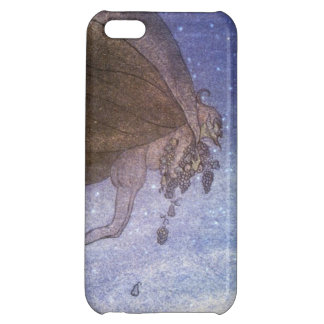 Magicians Cape John Bauer Swedish Fairy Tale Blue iPhone 5C Cases