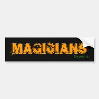 Magicians, Downhill Bumper Sticker