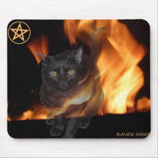 Magick Cat Mouse Pad