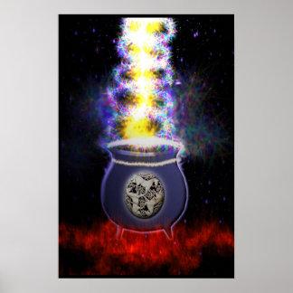 Magick Cauldren  Mothers  Womb Poster