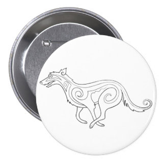Magick - Hound Pinback Button