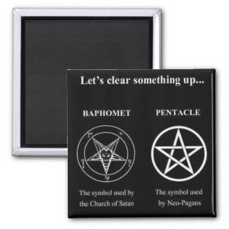 Magick - Let's Clear Something Up 2 Inch Square Magnet