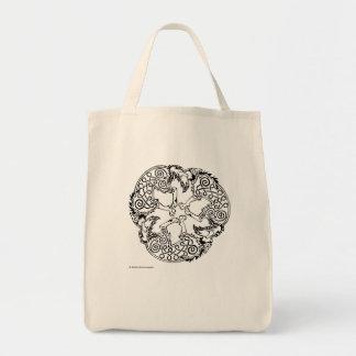Magick - lobo bolsa tela para la compra