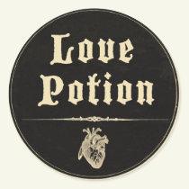 Magick - Love Potion Classic Round Sticker