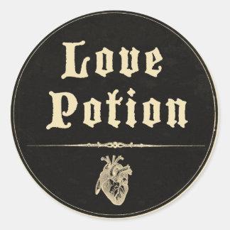 Magick - Love Potion Round Sticker