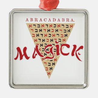 Magick Metal Ornament