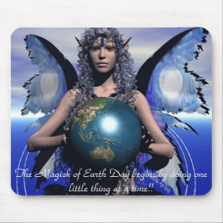 Magick of EarthDay Mouse Pad
