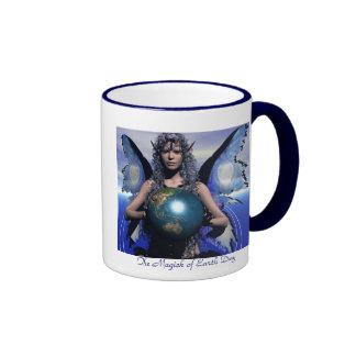 Magick of EarthDay Ringer Coffee Mug