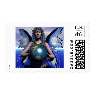 Magick of EarthDay Postage Stamp