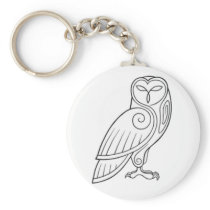 Magick - Owl Keychain