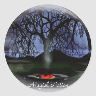 Magick Potion Stickers