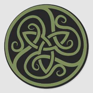 Magick - Triquetra Classic Round Sticker