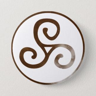 Magick - Triskele Pinback Button