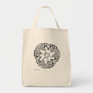 Magick - Wolf Grocery Tote Bag