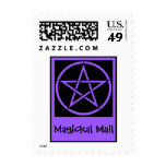 Magickal Mail Wiccan Pagan Postage Stamps
