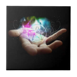 Magickal Pentacle tile