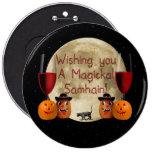 Magickal Samhain Button