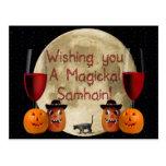 Magickal Samhain Post Cards