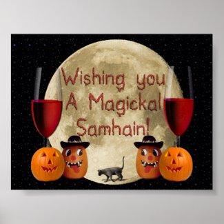 Magickal Samhain Poster