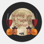 Magickal Samhain Sticker