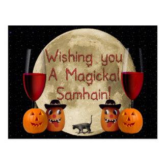 Magickal Samhain Tarjetas Postales