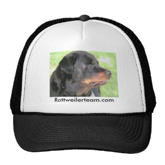 Magicks profile, Rottweilerteam.com Trucker Hat