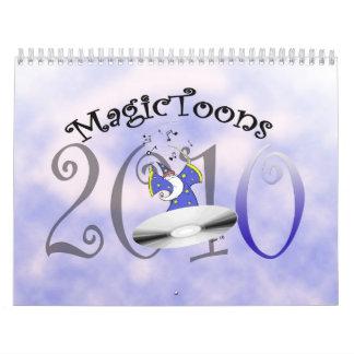 MagicToons 2010 Calendarios