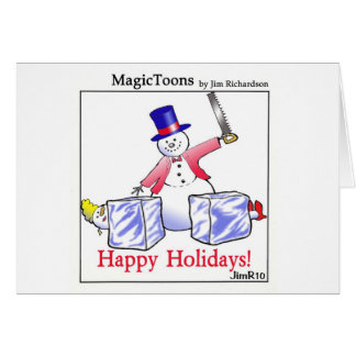 MagicToons Holiday Card! Card