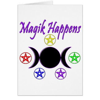 Magik Happens Card
