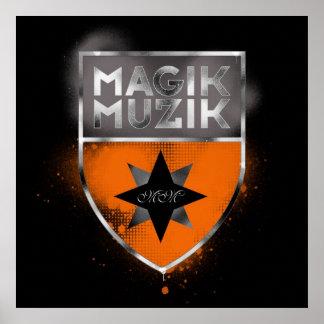 Magik Muzik Huge Poster