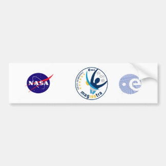 MagISStra Mission to the ISS Bumper Sticker
