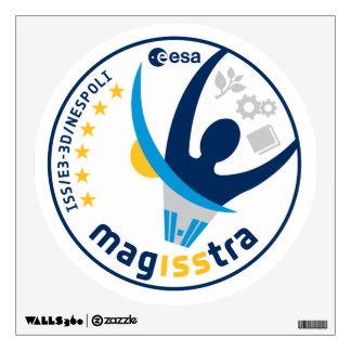 MagISStra Mission to the ISS Wall Sticker