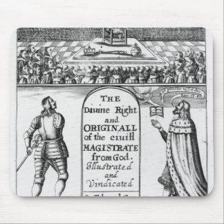 Magistrado civil original del derecho divino de tapete de ratones
