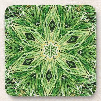 magleen la flor de la hierba del práctico de costa posavasos