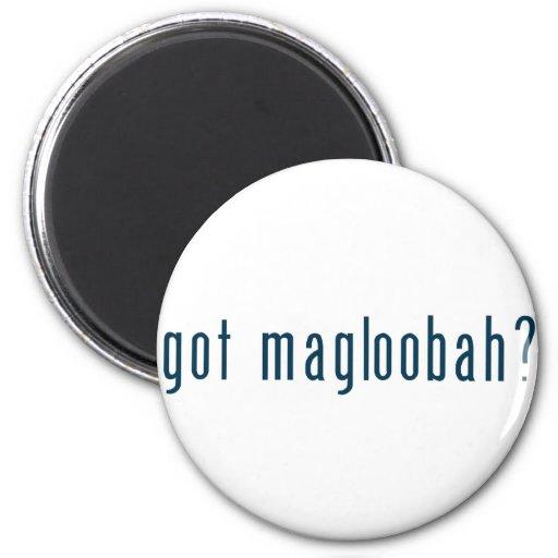magloobah conseguido imán de frigorífico