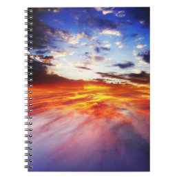 Magma and sky notebook
