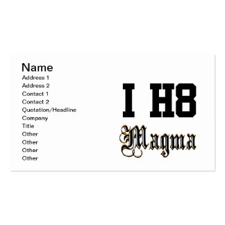 magma business card