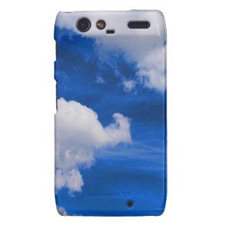 Magma del azul de cielo droid RAZR carcasa