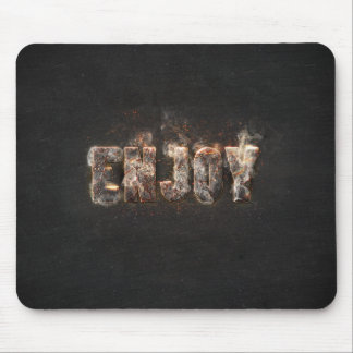 Magma Effect Mouse Pad
