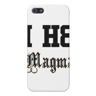 magma iPhone 5 cobertura