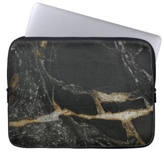"""magma gold granite"" iPad/Laptop Sleeve"