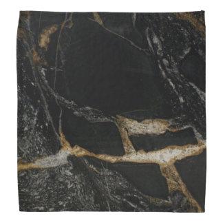 """""""magma gold"""" Granite-look bandana"""