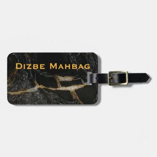 Magma Gold - Granite-look LUGGAGE TAG