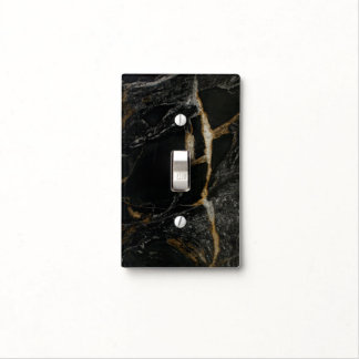 """Magma Gold"" Granite-look SWITCH PLATE Switch Plate Covers"