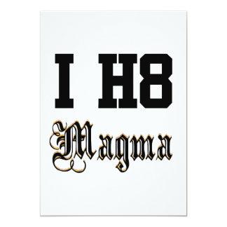 """magma invitación 5"""" x 7"""""""