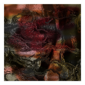Magma of My Unconscious Mind Print