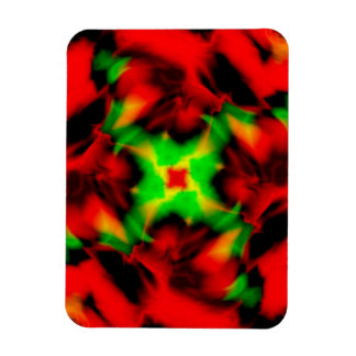 Magma Rectangular Magnet